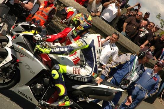 Valentino Rossi IOM TT 2