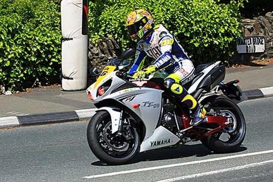 Valentino Rossi IOM TT 4
