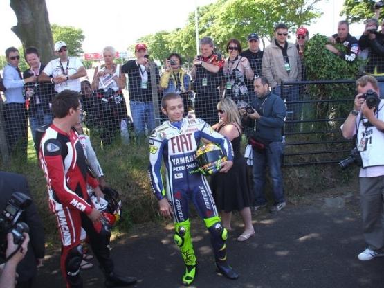 Valentino Rossi IOM TT
