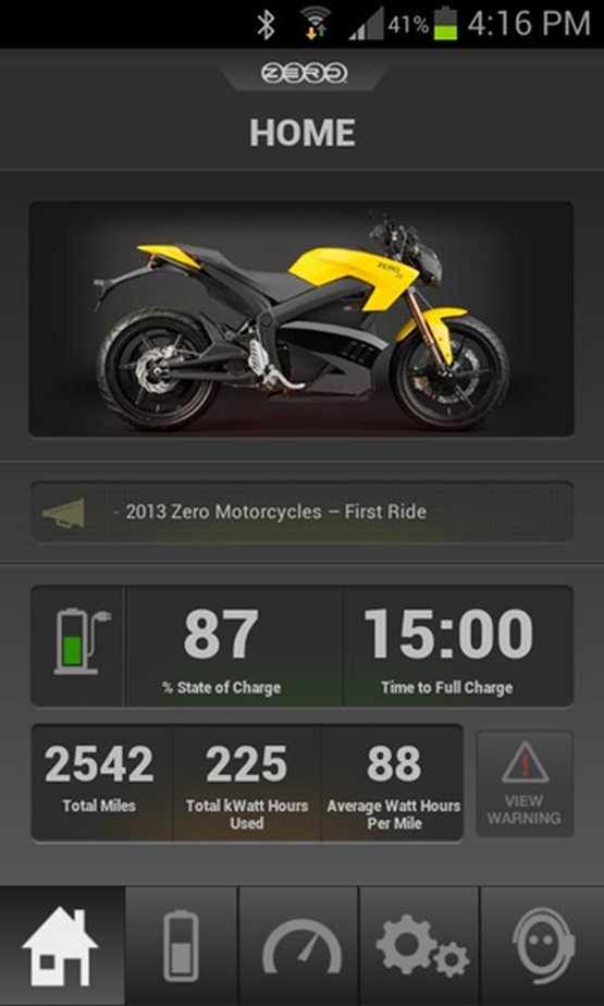 Zero Motorcycle App 2