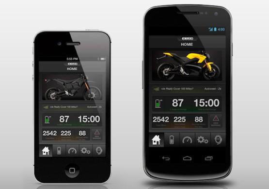 Zero Motorcycle App