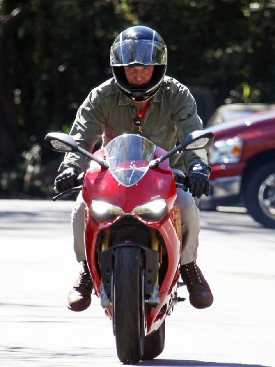 Bradley Cooper Ducati 1199 Panigale