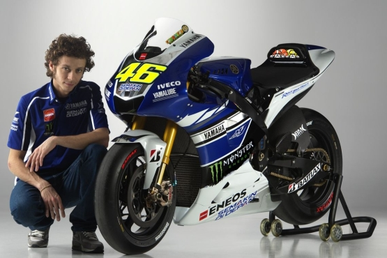 Rossi Yamaha 2013 YZR-M1 livery