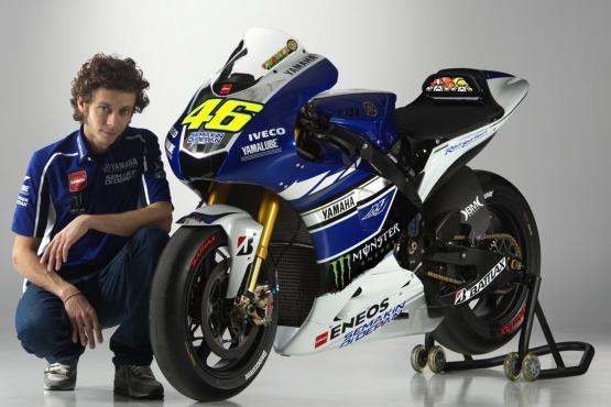 Rossi Yamaha 2013 YZR-M1 livery