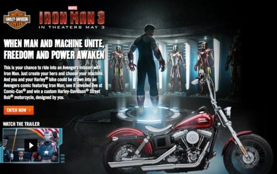 Iron-man Harley web