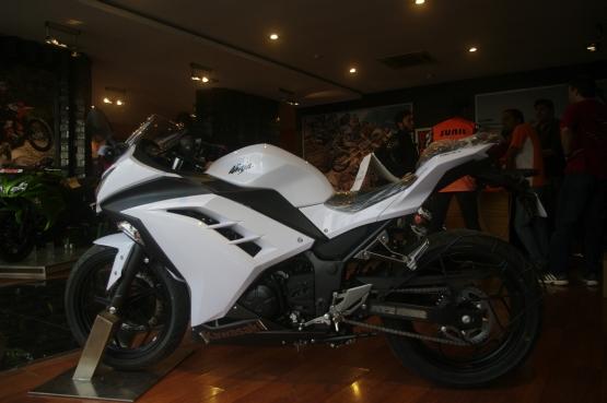 Kawasaki Ninja 300 White (1)