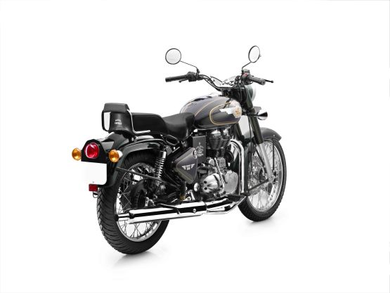 Royal Enfield Bullet 500 in Forest Green colour-Back_555