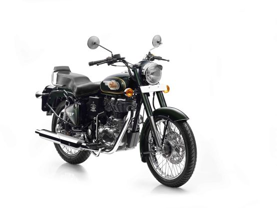 Royal Enfield Bullet 500 in Forest Green colour-Front_555