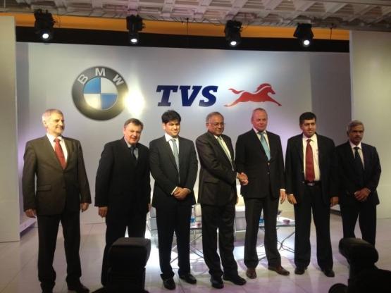 TVS BMW partnership 3