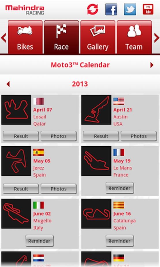 Mahindra Racing App (2)