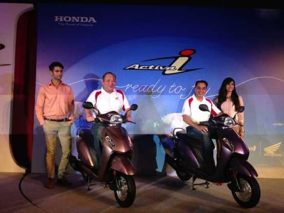 Honda activa i web