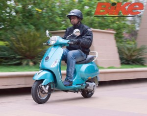 The just launched Vespa VX gets the Bike India test