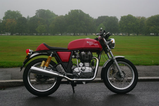 Royal Enfield Continental GT launch web