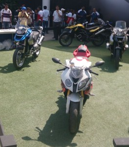 BMW Motorrad had quite a few offerings in the open