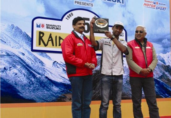 TVS Rider wins Raid De Himalaya web 2