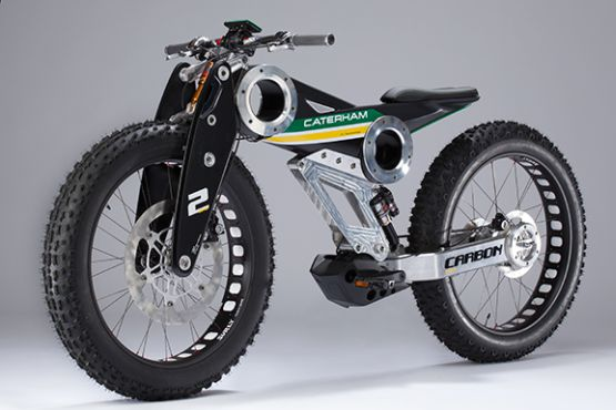 Caterham Bikes Carbon e-bike