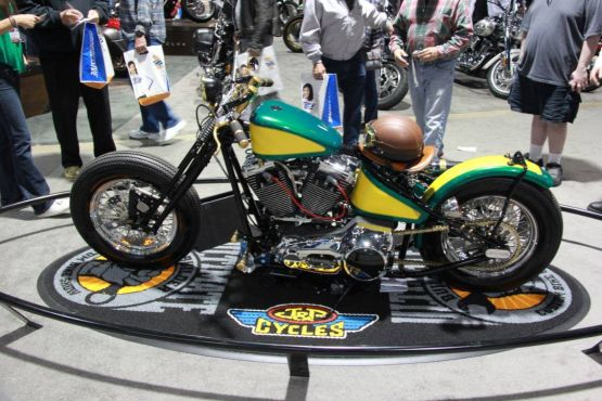 Harley Davidson Custom Gary Savill web