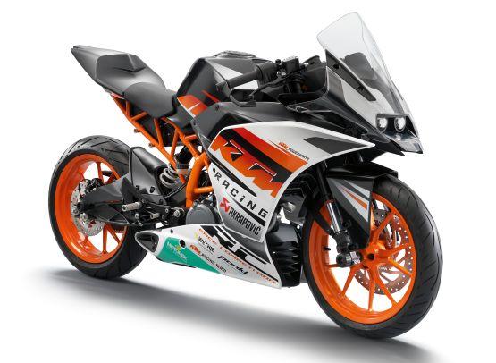 KTM RC390 India web