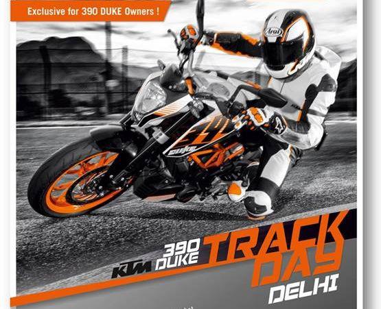 KTM 390 Duke Track Day web