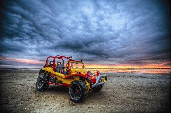 web Beach buggy, Carnarvon, Australia