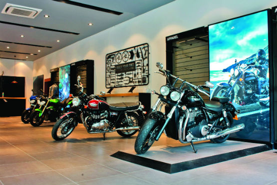 Triumph Dealerships 2014 2
