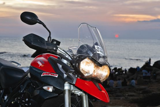 Triumph Tiger Travelogue Bike India 2 web