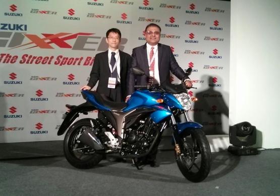 Suzuki Gixxer 0 web