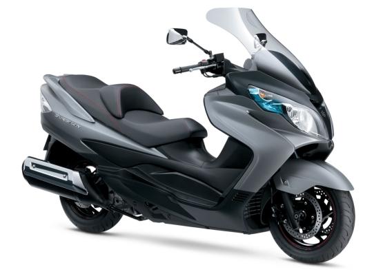 Suzuki Burgman 400 ABS power scooter web