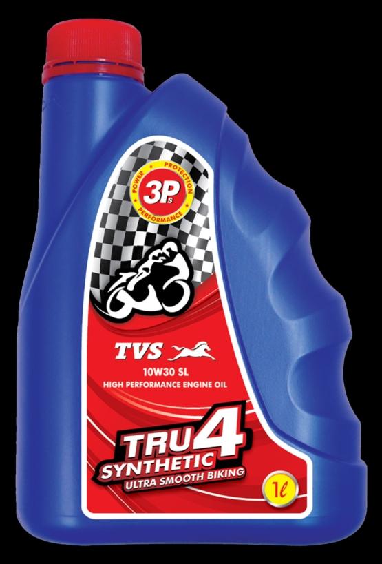 TVS TRU4 10W30 Synthetic Engine Oil web