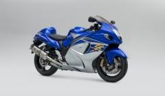 Suzuki Hayabusa Z blue and silver web