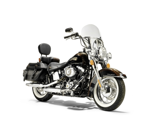 Popes Harley-Davidson 110th anniversary Heritage Softail Classic 1
