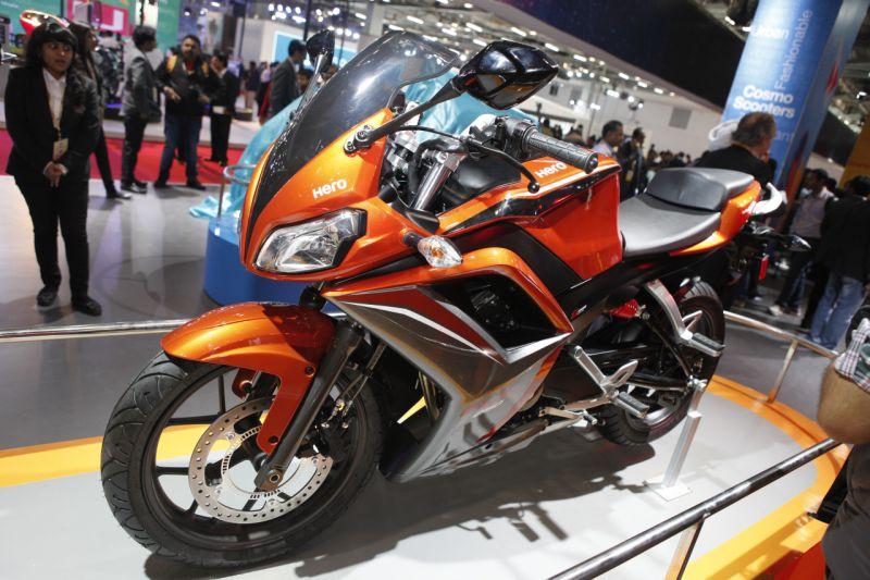 Hero HX 250R concept web