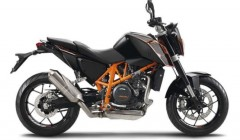 KTM 690 Duke black web