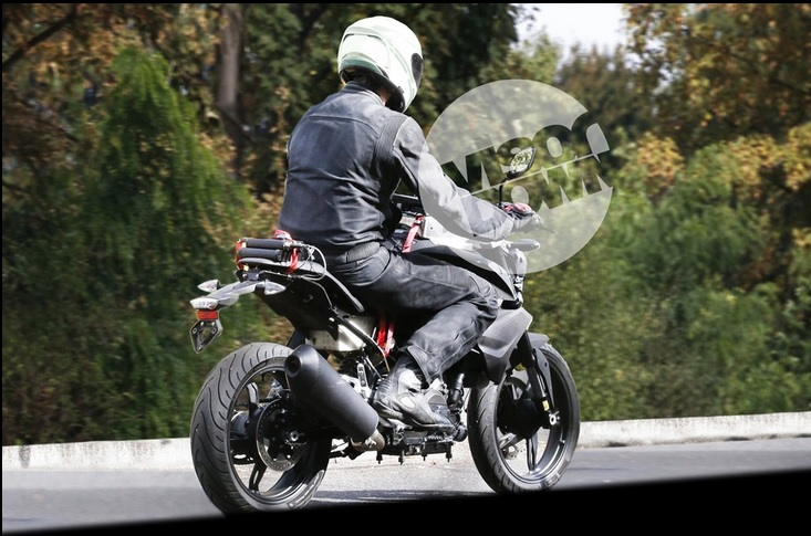 TVS BMW spyshots 1