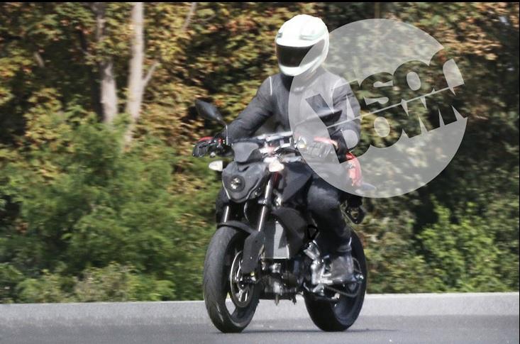 TVS BMW spyshots