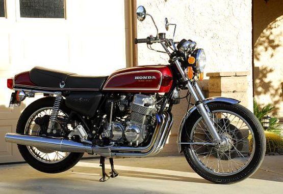 Honda CB 750 web