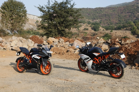 KTM RC 390 and RC 200 (1)