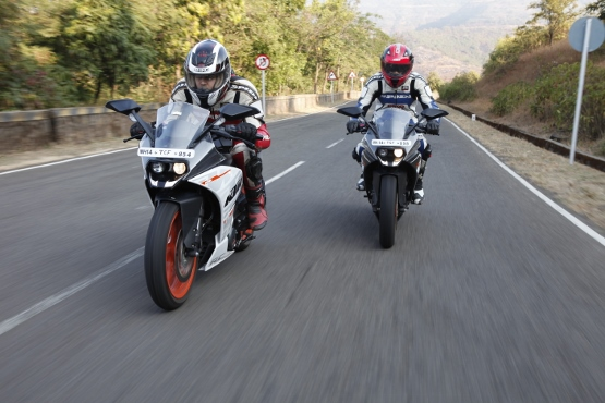 KTM RC 390 and RC 200 (2)