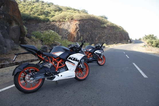 KTM RC 390 and RC 200 (5)