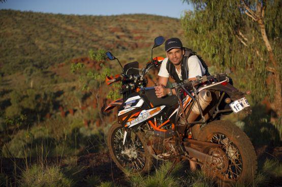 Self Portrait, Weano Gorge, Karijini National Park, Australia web