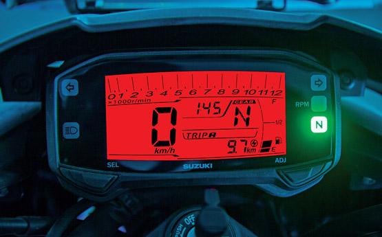 Suzuki Gixxer Instrument console