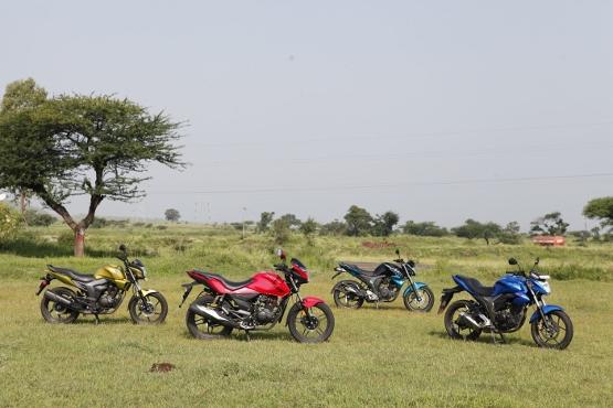 Suzuki Gixxer v Yamaha FZ-S v Honda CB Trigger v Hero CBZ Xtreme (10) (555x370)