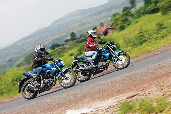 Suzuki Gixxer v Yamaha FZ-S v Honda CB Trigger v Hero CBZ Xtreme (18) (555x370)