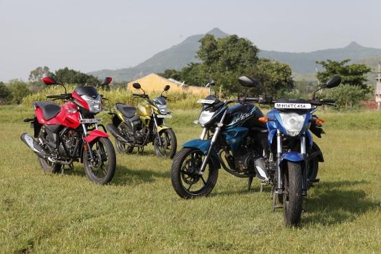 Suzuki Gixxer v Yamaha FZ-S v Honda CB Trigger v Hero CBZ Xtreme (8) (555x370)