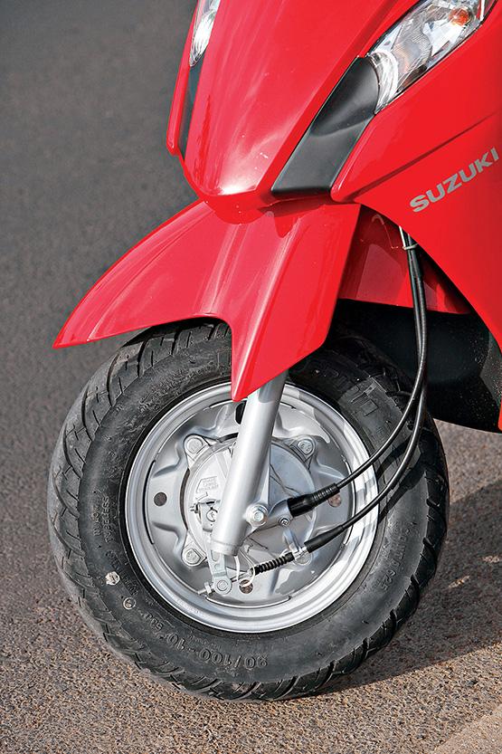 Suzuki Let's Front Fork