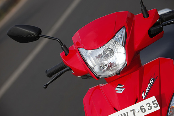 Suzuki Let's Headlamp