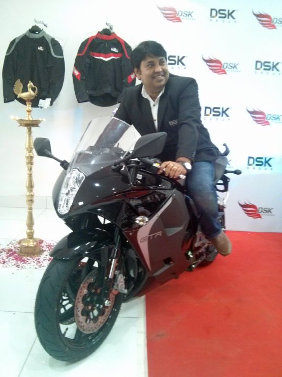 2015 DSK Showroom launch New Delhi web 1