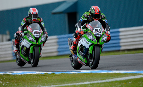 Sykes and Rea in hot pursuit