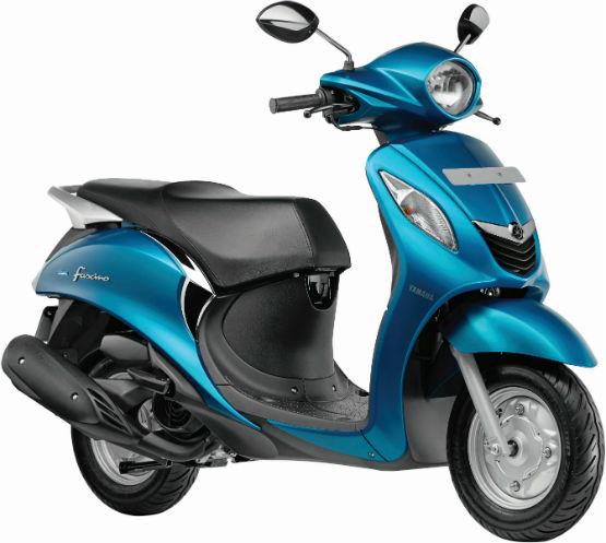 Yamaha Fascino- CyanWEB