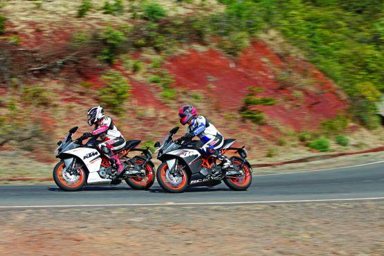 KTM RC 200 & RC390 Road Test WEB12
